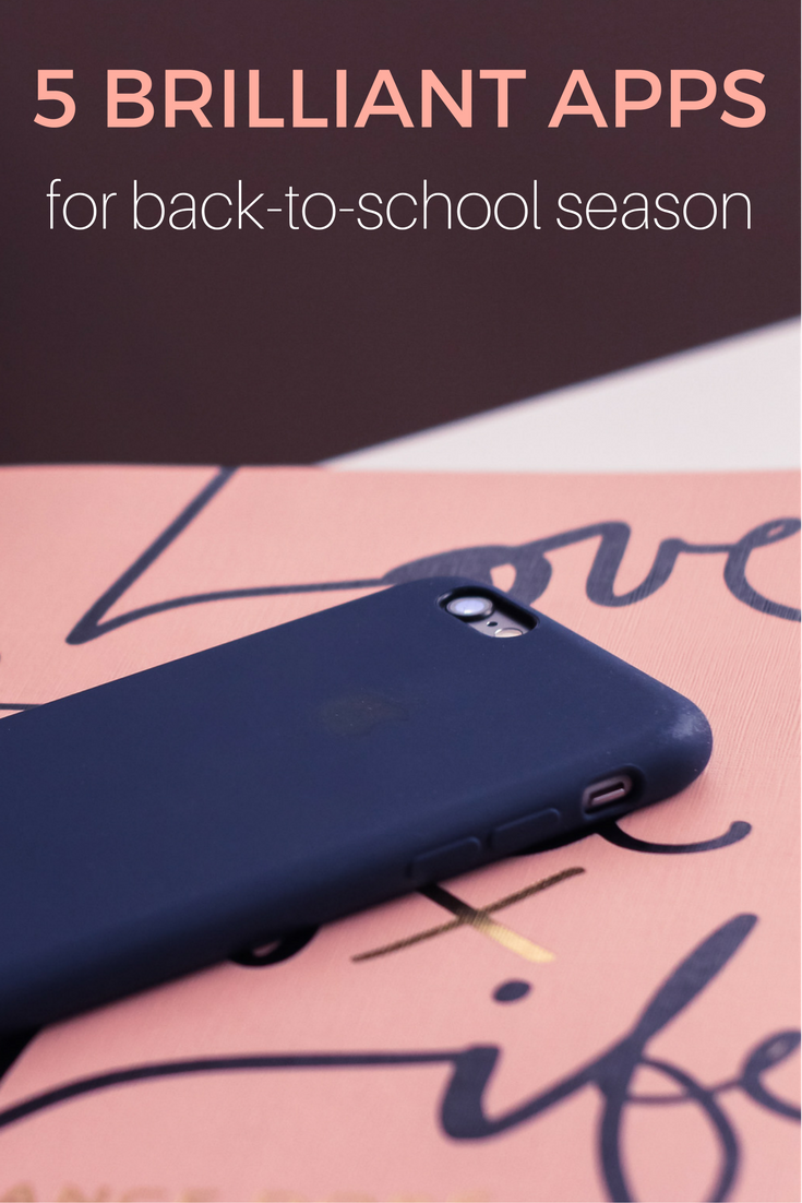 5 Brilliant Apps for Back-to-School Season