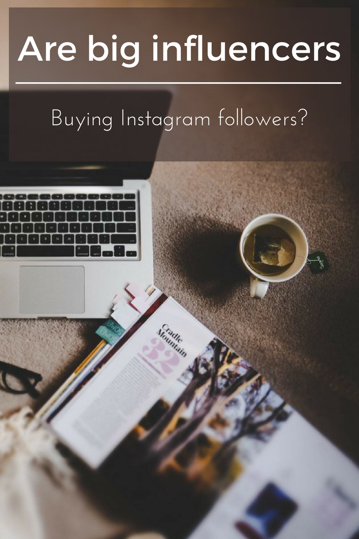Are big influencers buying instagram followers