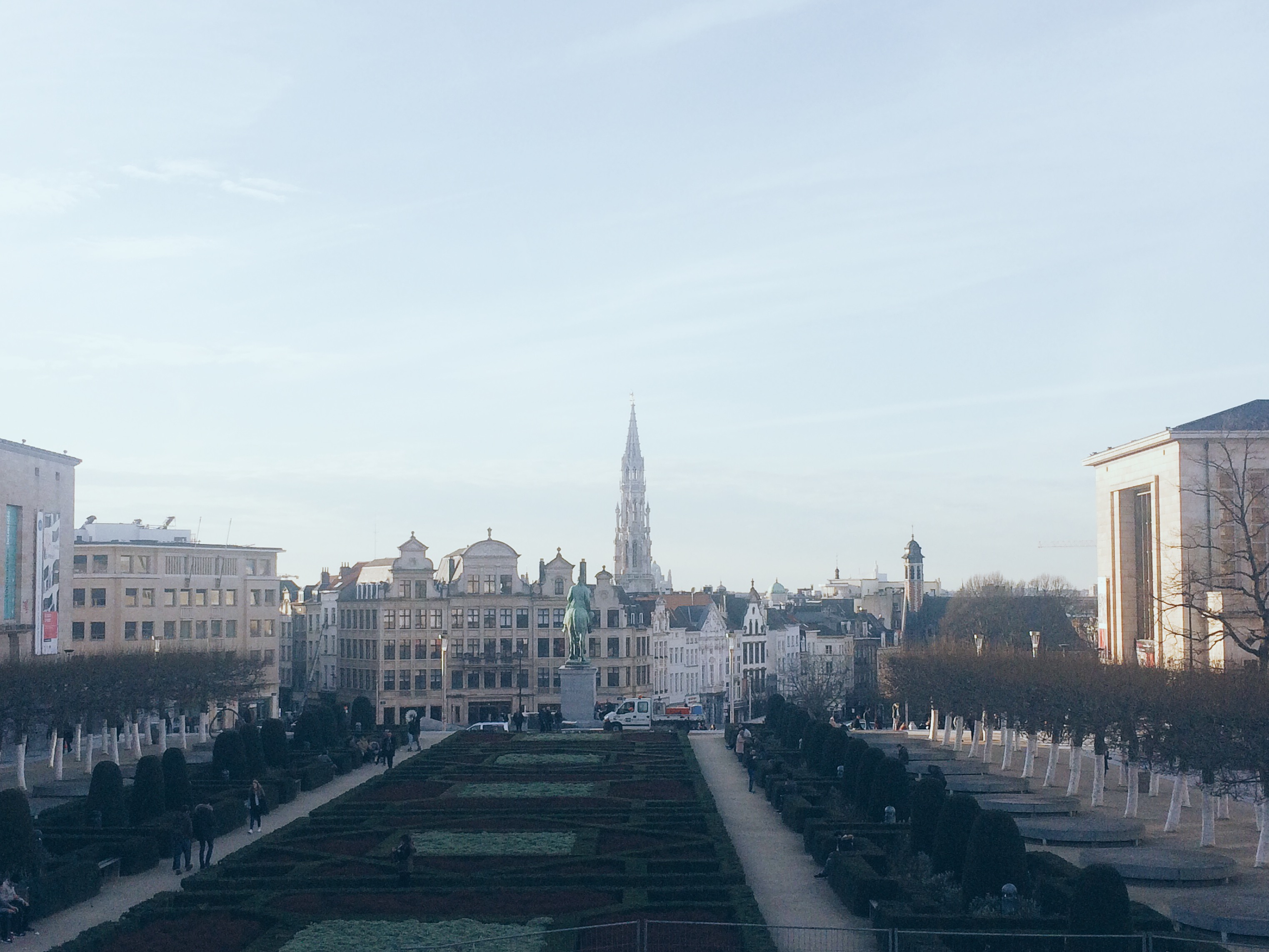 The Mont des Arts & the Galeries Royales Saint-Hubert [Discover Brussels]